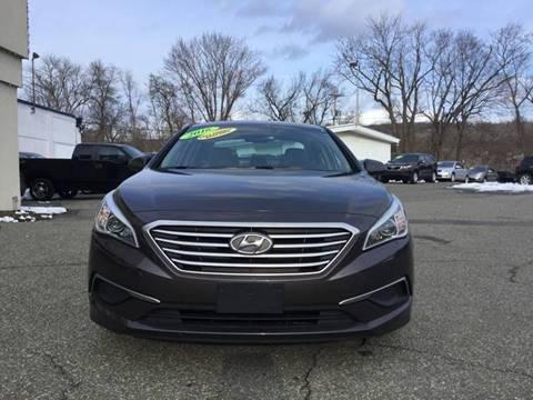 2016 Hyundai Sonata for sale at Techno Motors in Danbury CT