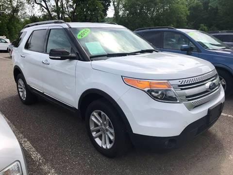 2015 Ford Explorer for sale at Techno Motors in Danbury CT