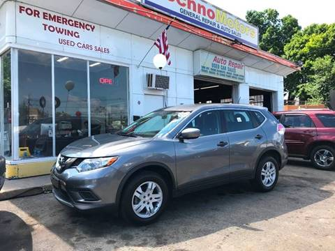 2016 Nissan Rogue for sale at Techno Motors in Danbury CT