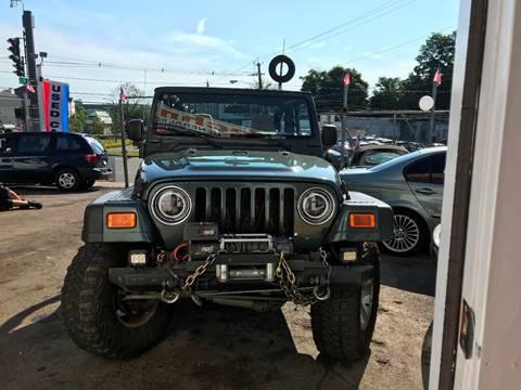 2003 Jeep Wrangler for sale at Techno Motors in Danbury CT