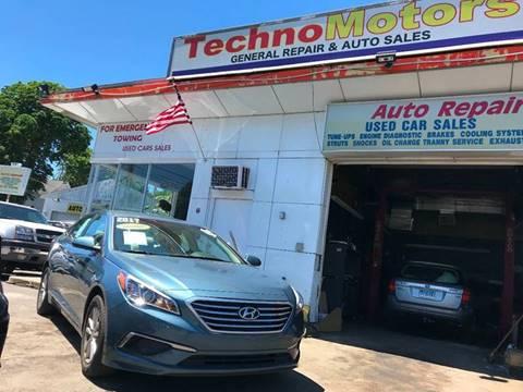2017 Hyundai Sonata for sale at Techno Motors in Danbury CT