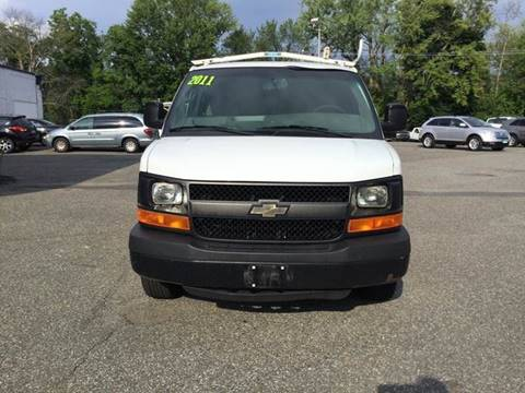 2011 Chevrolet Express Cargo for sale at Techno Motors in Danbury CT