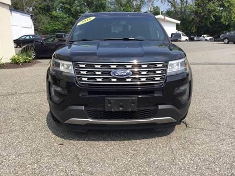 2016 Ford Explorer for sale at Techno Motors in Danbury CT