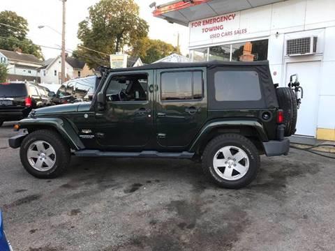 2011 Jeep Wrangler Unlimited for sale at Techno Motors in Danbury CT