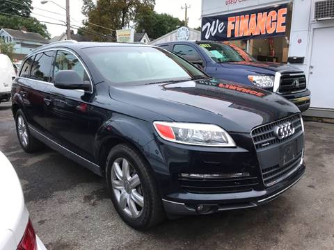 2007 Audi Q7 for sale at Techno Motors in Danbury CT