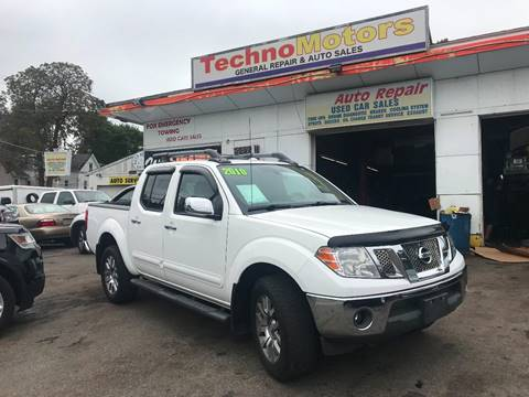 2010 Nissan Frontier for sale at Techno Motors in Danbury CT