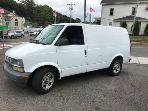 2003 Chevrolet Astro Cargo for sale at Techno Motors in Danbury CT