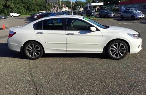 2015 Honda Accord for sale at Techno Motors in Danbury CT