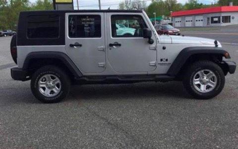 2007 Jeep Wrangler Unlimited for sale at Techno Motors in Danbury CT