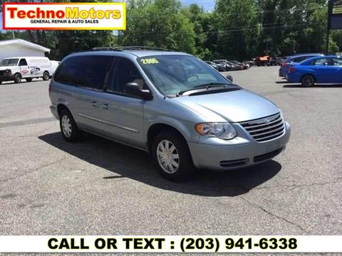 2005 Chrysler Town and Country for sale at Techno Motors in Danbury CT