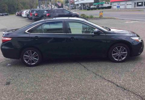 2016 Toyota Camry for sale at Techno Motors in Danbury CT