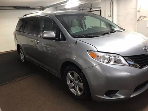 2012 Toyota Sienna for sale at Techno Motors in Danbury CT