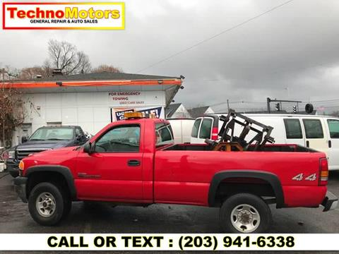 2002 GMC Sierra 2500HD for sale in Danbury, CT