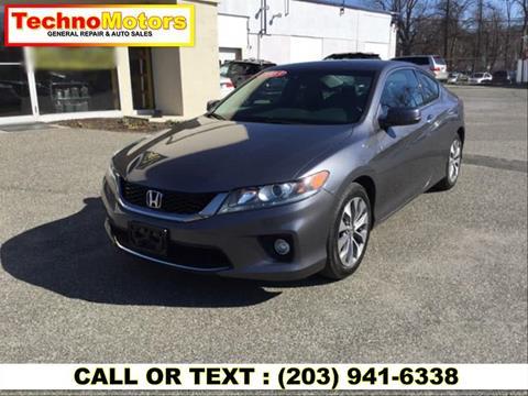 2013 Honda Accord for sale in Danbury, CT