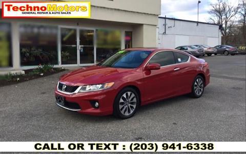 2014 Honda Accord for sale in Danbury, CT