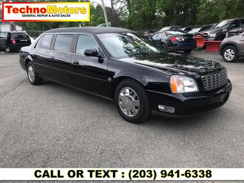 2002 Cadillac Deville Professional for sale in Danbury, CT
