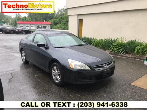 2007 Honda Accord for sale in Danbury, CT