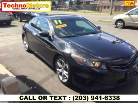 2011 Honda Accord for sale at Techno Motors in Danbury CT
