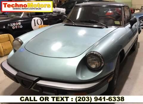 1983 Alfa Romeo Spider for sale at Techno Motors in Danbury CT