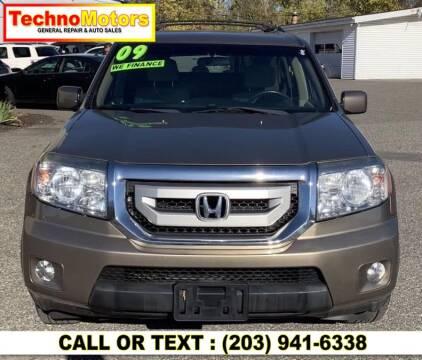 2009 Honda Pilot for sale at Techno Motors in Danbury CT