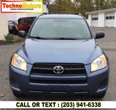 2010 Toyota RAV4 for sale at Techno Motors in Danbury CT