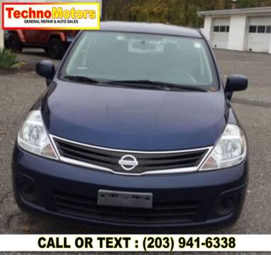 2012 Nissan Versa for sale at Techno Motors in Danbury CT