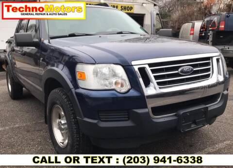 2007 Ford Explorer Sport Trac for sale at Techno Motors in Danbury CT