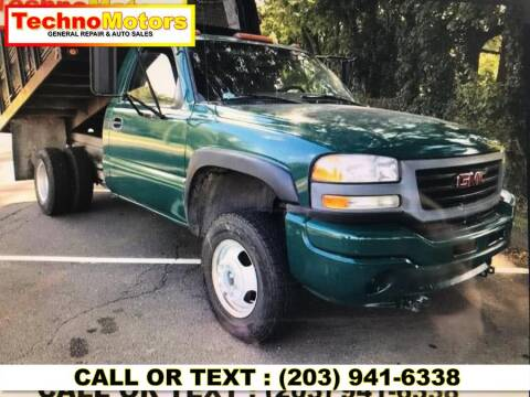 2006 GMC Sierra 3500 for sale at Techno Motors in Danbury CT