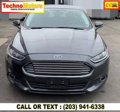 2015 Ford Fusion for sale at Techno Motors in Danbury CT