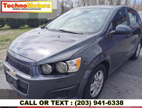2013 Chevrolet Sonic for sale at Techno Motors in Danbury CT
