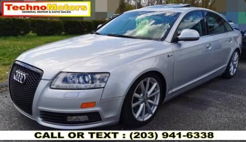2010 Audi A6 for sale at Techno Motors in Danbury CT