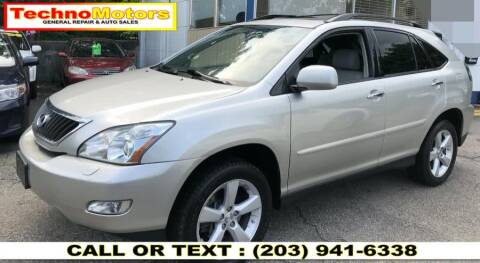 2008 Lexus RX 350 for sale at Techno Motors in Danbury CT