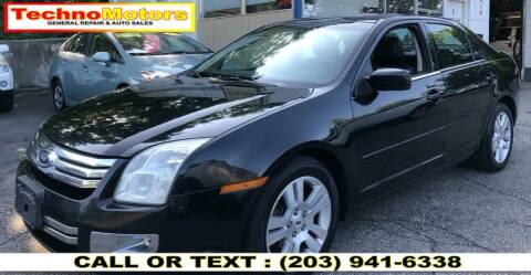 2009 Ford Fusion for sale at Techno Motors in Danbury CT