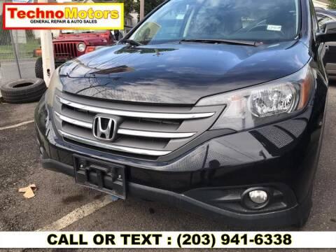 2012 Honda CR-V for sale at Techno Motors in Danbury CT