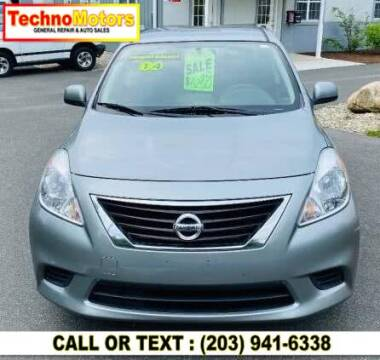 2014 Nissan Versa for sale at Techno Motors in Danbury CT