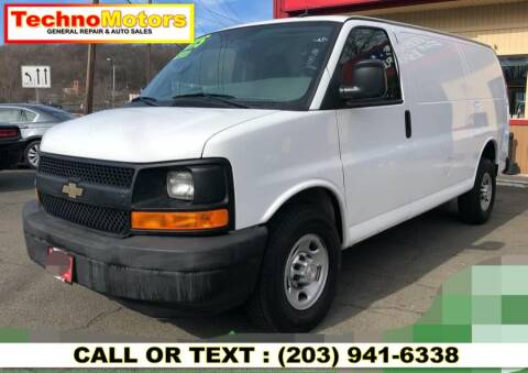 2015 Chevrolet Express Cargo for sale at Techno Motors in Danbury CT
