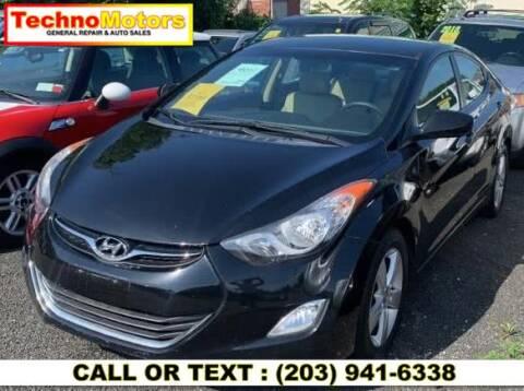 2012 Hyundai Elantra for sale at Techno Motors in Danbury CT
