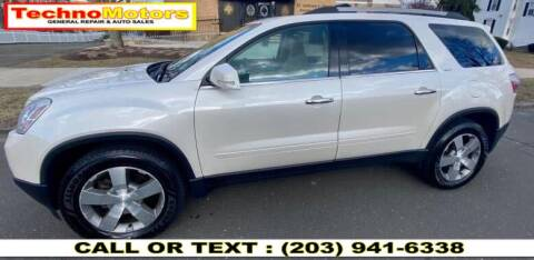 2012 GMC Acadia for sale at Techno Motors in Danbury CT