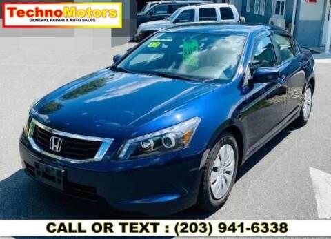 2010 Honda Accord for sale at Techno Motors in Danbury CT