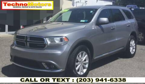 2014 Dodge Durango for sale at Techno Motors in Danbury CT