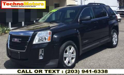 2015 GMC Terrain for sale at Techno Motors in Danbury CT