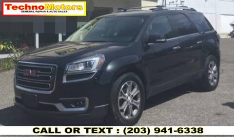 2014 GMC Acadia for sale at Techno Motors in Danbury CT