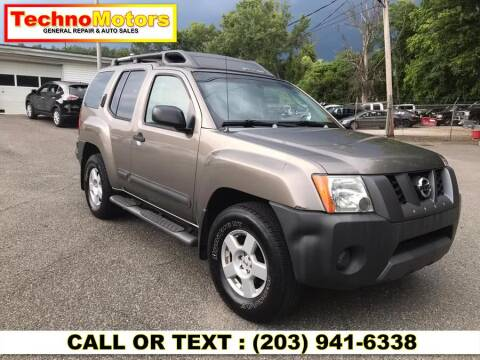 2006 Nissan Xterra for sale at Techno Motors in Danbury CT