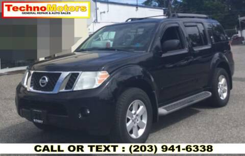 2012 Nissan Pathfinder for sale at Techno Motors in Danbury CT