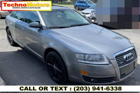 2006 Audi A6 for sale at Techno Motors in Danbury CT