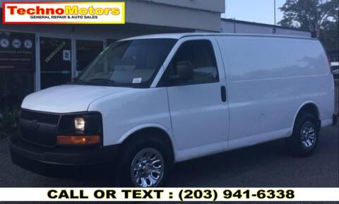 2012 Chevrolet Express Cargo for sale at Techno Motors in Danbury CT