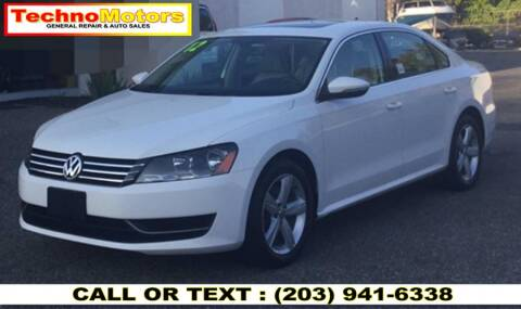 2012 Volkswagen Passat for sale at Techno Motors in Danbury CT