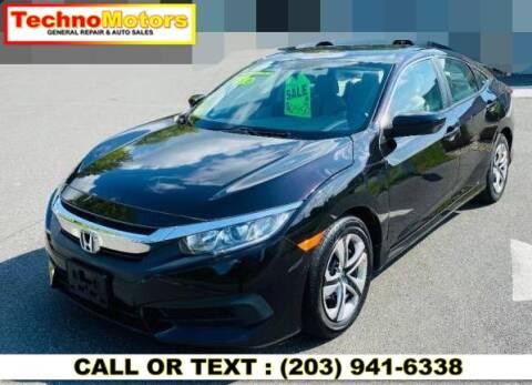 2016 Honda Civic for sale at Techno Motors in Danbury CT