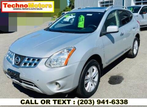 2013 Nissan Rogue for sale at Techno Motors in Danbury CT