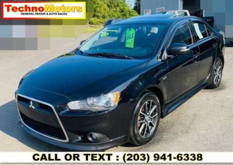 2015 Mitsubishi Lancer for sale at Techno Motors in Danbury CT